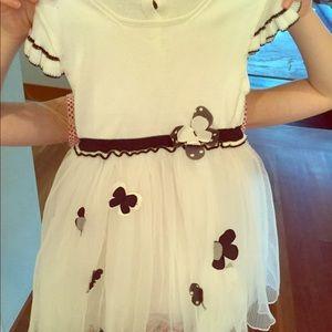 Beautiful Italian girls dress by Baby Graziella